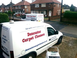 carpet cleaners in Doncaster our vans