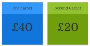 How much is carpet cleaning in Doncaster