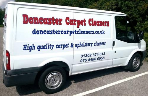 Doncaster carpet cleaners van